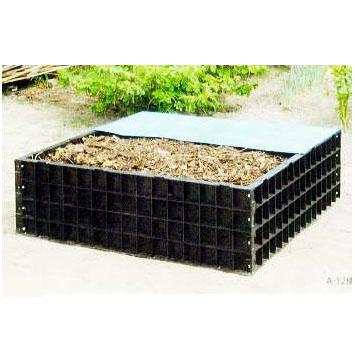 堆肥ワク A-12 (550L)法人個人選択 [堆肥枠 堆肥わく 土 肥料 瀧商店] サンポリ