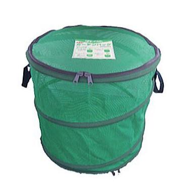 田中産業 堆肥メッシュバッグ タヒロン ニューガーデンバッグII Lサイズ 堆肥枠 φ60cm×H57cm 容量161L 法人個人選択
