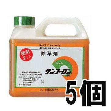 サンフーロン 2L 除草剤 5個セット 大成農材[園芸用品 農機具 農具 瀧商店 雑草対策]