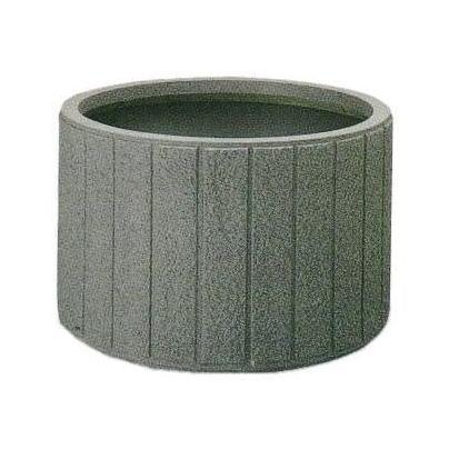 トーシン プランター GRC 石材調 M型 石材調丸型プランター GMBS-900 TOSHIN ※底面給水タンクプラスウォーターセットもあります