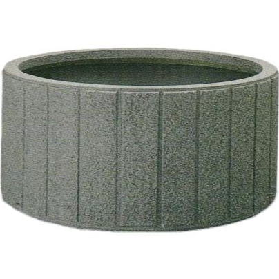 トーシン プランター GRC 石材調M型 石材調丸型プランター GMBS-1200 TOSHIN (受注生産品) ※底面給水タンクプラスウォーターセットもあります