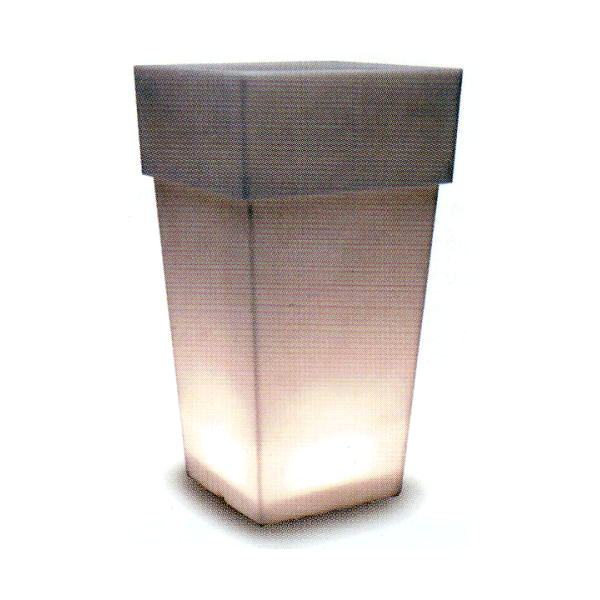 トーシン プランター 【セラルンガ】 アペルト・ライトLAPE-700Serralunga 光るプランター イタリア