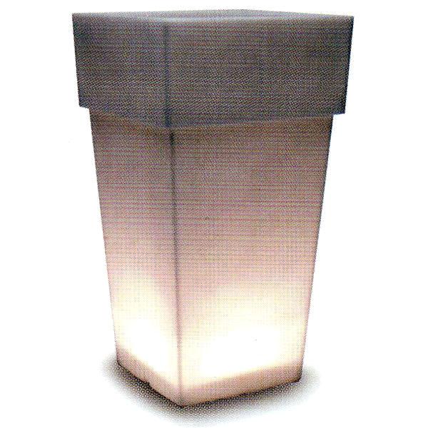 トーシン プランター 【セラルンガ】 アペルト・ライト LAPE-1000Serralunga 光るプランター イタリア