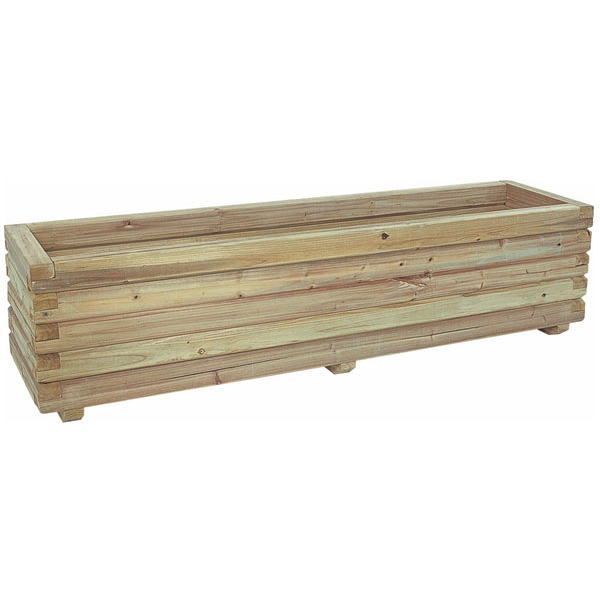 e-ウッドプランター180 EUPU-180(組立式・無塗装)【smtb-ms】[天然木製プランター 瀧商店]