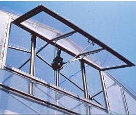 ハウスの妻窓 簡単手動換気装置 ツマソーIII ツマソー3