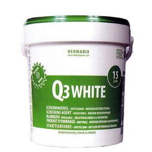 白色遮光剤 Q3ホワイト 15L シーアイマテックス 【smtb-ms】