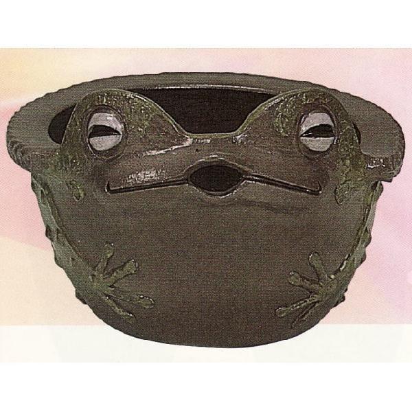 蛙すい蓮鉢 15号 (16C02)