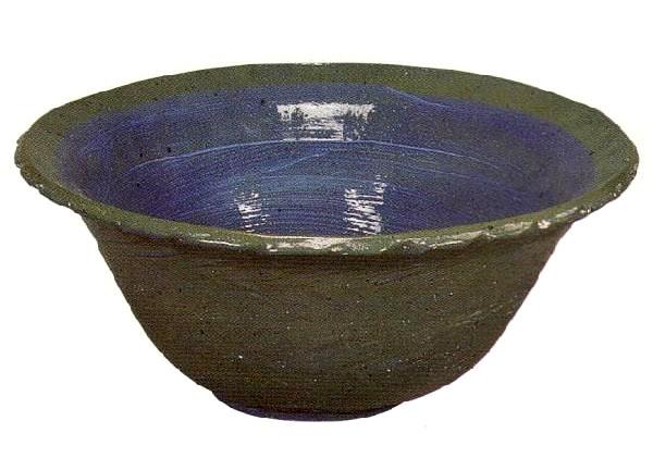 すい蓮鉢 反形 16号 (16C08)