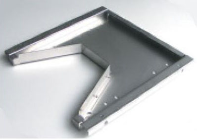 自動給餌機CR-601/CR-611専用盗難防止用本体取付板