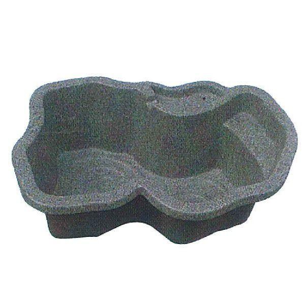 (法人送り限定)みかげ調プラ池 S90 【庭園埋設型・容量90L】 成型池 ひょうたん池 SS タカラ工業 (個人宅配送不可)