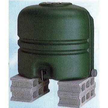 雨水タンク ホームダム RWT-110 グリーン 110L コダマ樹脂工業補助金対象製品 法人個人選択[簡単設置 節水 家庭菜園用水 園芸用水 瀧商店]