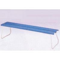コンドル 樹脂ベンチ背なしECO No1800 幅1800×高さ400mm 山崎産業