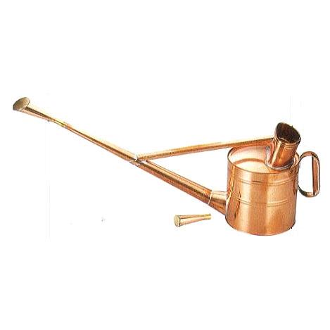 銅製 英国式 ジョーロ 6号 英国型 如雨露 斜口・直口 根岸産業 [如露 じょうろ ジョロ 瀧商店]