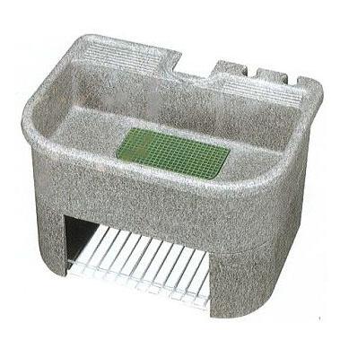[ガーデンシンク]研ぎ出し流し 庭園 600-H型