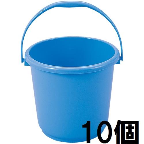 【まとめ買い10個セット品】新輝合成 トンボ バケツ 15型 15L ブルー 本体 10個