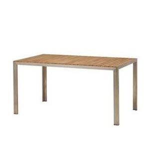 送料無料時を経るほどに味わいを深める  ライズ ダイニングテーブル TRD-155T 33879500 チーク材・組立式