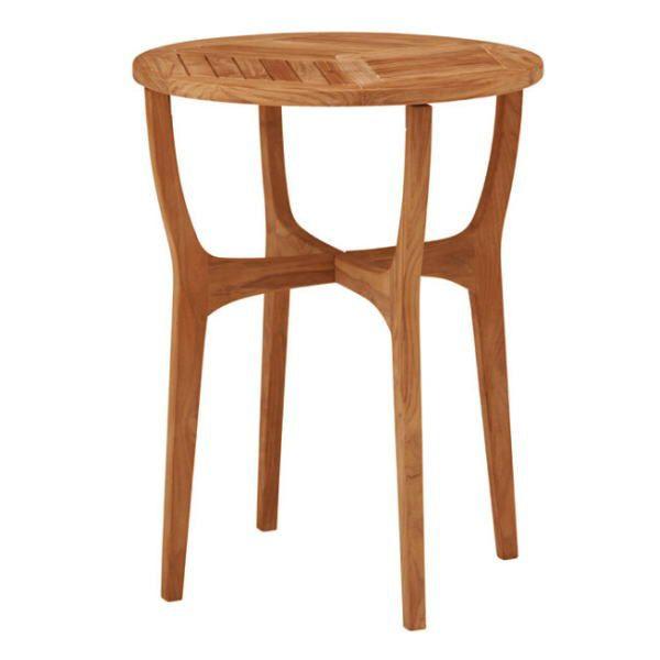 ロータス テーブル60 TRD-247T 33886300 チーク材・完成品 タカショー