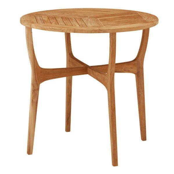 ロータス テーブル80 TRD-248T 33887000 チーク材・完成品 タカショー