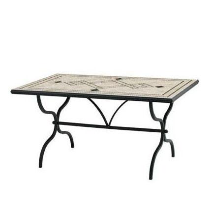 デルタ モザイクダイニングテーブル AXDT-5200 32981600 組立式 タカショー