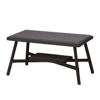 タカショー 庭座 カフェテーブル900 ダークブラウン KFA-T009完成品