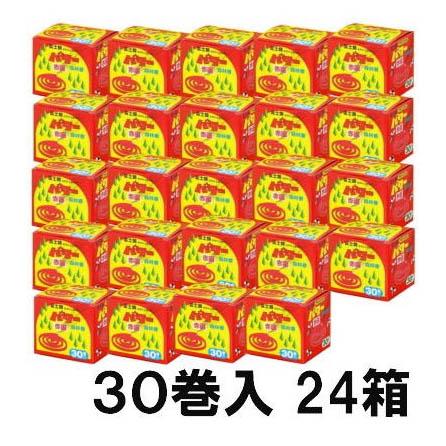 パワー森林香30巻×24箱(1梱)  防虫線香プロ用