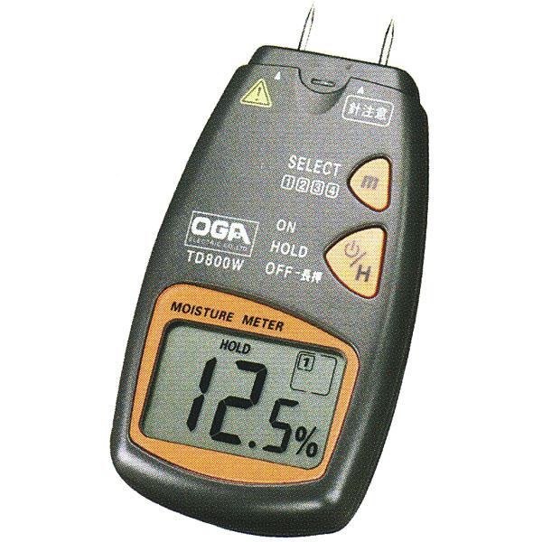 木材水分チェッカー TD800W オガ電子 水分計 測定器TD-800W