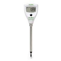 【土壌伝導率計】 土壌ダイレクトEC/℃テスター HI 98331NS (Soil Test) ソイル テスト 土壌用EC計 竹村電機製作所