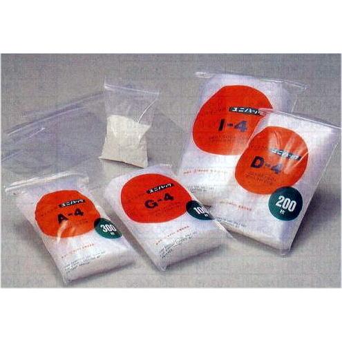 チャック付きポリ袋 ユニパック SL-4 1ケース100枚×6袋入【smtb-ms】