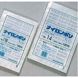 真空・水物包装 ナイロン Lタイプ 規格袋 23号 75ミクロン360×500mm 600枚 【smtb-ms】