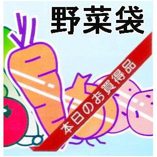 OPP防曇野菜印刷袋 生き生きパック#25里いも、玉ねぎなどに 各6000枚 【smtb-ms】[野菜袋 瀧商店]