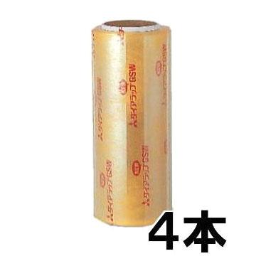 業務用 ダイアラップ i-GSW 400×750 食品包装用 ストレッチフィルム 4本入 [ピオニー ポリパッカーダイヤラップ]