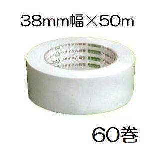 オカモト クラフトテープ No.224W 環境思いエコホワイト38mm×50m巻 60個単位