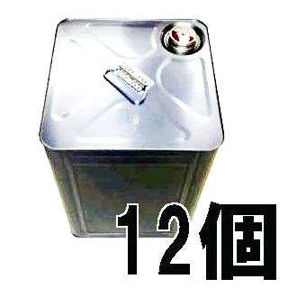 空缶 無地 18L 角缶 (1斗ブリキ缶) キャッププロテクター付き 一斗缶 12個単位