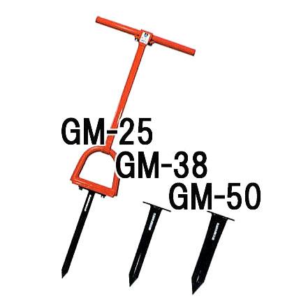 サンエー モーラー GM38 (打込み式 穴あけ器)【smtb-ms】