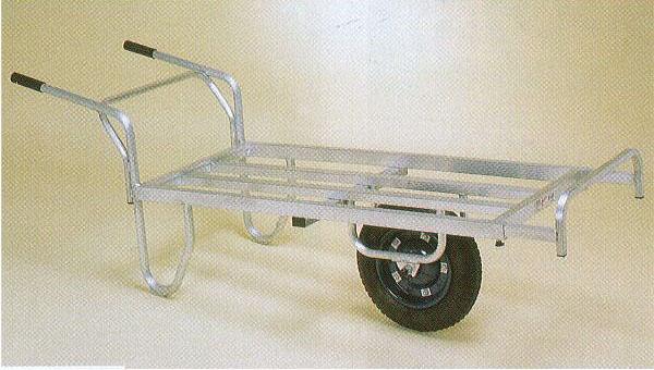 ハラックス アルミ平型一輪車 ストッパー伸縮タイプ コン助 CN-65D ブレーキ無(法人個人選択)