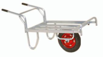 ハラックス コン助 CN-45DX (法人個人選択) エアータイヤ(TR-13×3DX) ブレーキ無 アルミ製 平型一輪車