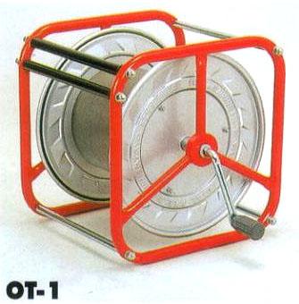 ハタヤ 空リール 電線・ロープ巻取り器 OT-1 カラリール haya【smtb-ms】