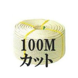 100Mクレモナロープ三つ打(国産) 9mm×100M【smtb-ms】