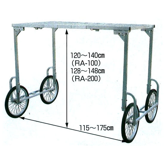 ハラックス RA-H1480 RA-100、RA-200の高床用部品(法人個人選択)