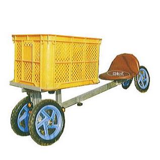 ハラックス アルミ製 乗用作業車 パラエモン NAH-1 (法人個人選択) [農業用作業椅子]