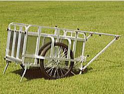 ハラックス コンパック HC-3500N ノーパンクタイヤ (TR-26×2-1/2N) アルミ製 折りたたみ式リヤカー 耐荷重350kgタイプ 法人個人選択 【smtb-ms】
