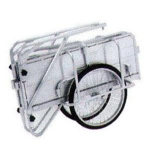 アルミ製 折りたたみ式 リヤカー アルインコ HKW-180側板付