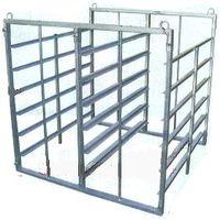 ハラックス アルミ製 育苗箱運搬器 ナエラック ER-48 (法人個人選択)