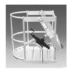 ミツル 高所作業用 ゴンドラ ジャッキ式 先丸小 アルミ製 法人個人選択