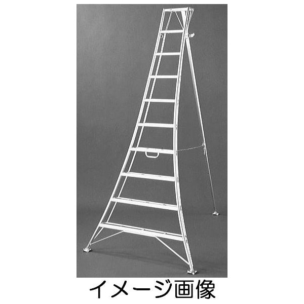 アルステップ AP-7 アルミ製 三脚脚立 7尺210cm伸縮式強力タイプ[GK-210 瀧商店 2.1m](法人個人選択)