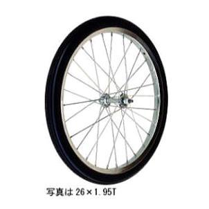 エアー入りタイヤ TR-26×2-1/2T (スポークホイール)(商品No.17) ハラックス タイヤ 法人個人選択