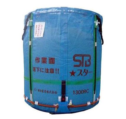 田中産業 スタンドバッグスター (STBスター) 800L 穀類大量輸送袋 一般乾燥機向け