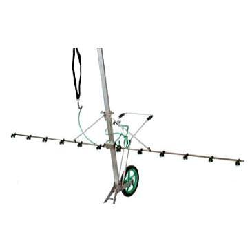 送料無料大きな車輪、走行性アップ  ヤマホ工業 カートジェッター S型1輪 (G1/4) 191363[噴口 噴霧機 防除機 散布機 スプレー]