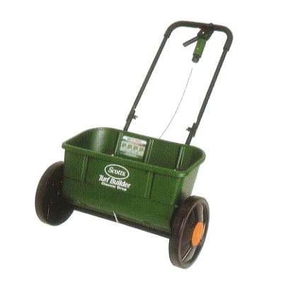 芝生肥料散布機 アキューグリーン 3000 30L SAG-3000 [農機具 ドロップ式 スプレッダー 肥料散布器] キンボシ