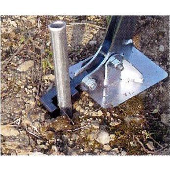農業用パイプ抜き器、支柱抜き器 支柱抜き器φ19.1用・φ22.2用・φ25.4用 【smtb-ms】
